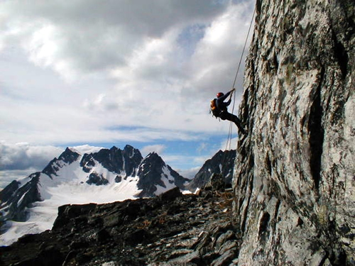 Mt Tupper Rappel - James Frankenfield